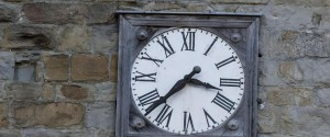 A clock stopped on the time of the earthquake in Amatrice, central Italy, where a 6.1 earthquake struck just after 3:30 a.m., Wednesday, Aug. 24, 2016. The quake was felt across a broad section of central Italy, including the capital Rome where people in homes in the historic center felt a long swaying followed by aftershocks. ANSA/ MASSIMO PERCOSSI