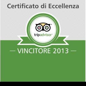 certificato eccellenza 2013 tripadvisor thotel cagliari