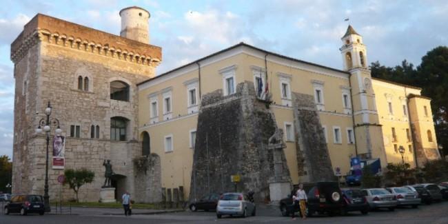 La Rocca dei Rettori, sede della Provincia di Benevento