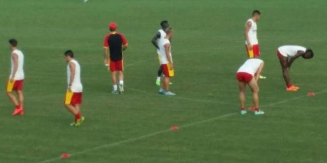 Benevento calcio allenamento