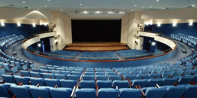 Teatro Gesualdo interno