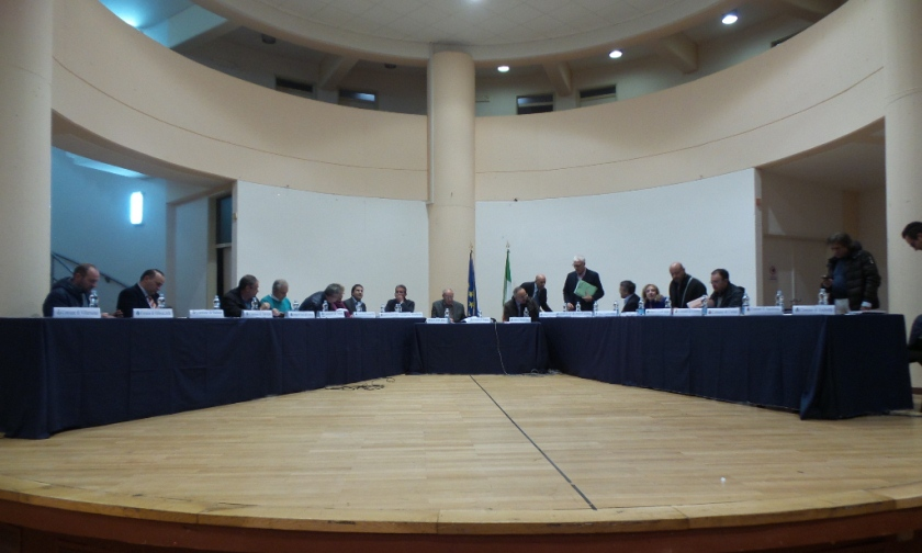 Il tavolo dei sindaci a Bisaccia