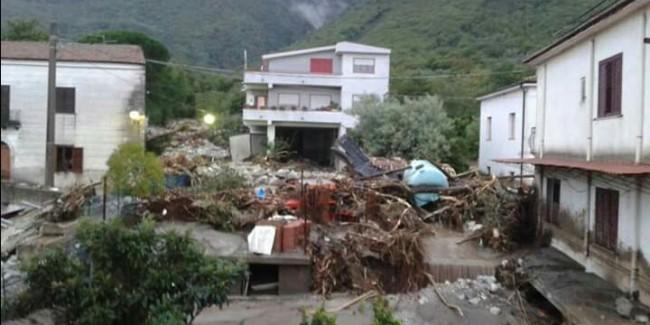 La distruzione arriva dalla montagna