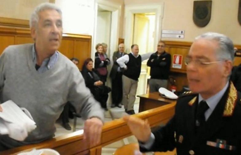 Gabriele Corona (a sinistra nella foto)