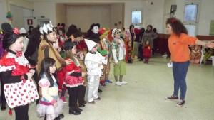 Un'attività dell'Anspi con i bambini