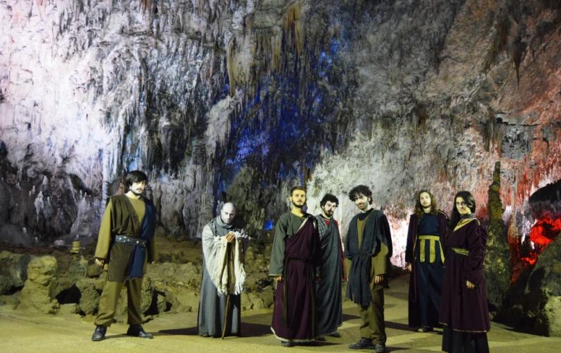 Il cast di Ulisse, il viaggio nell'Ade