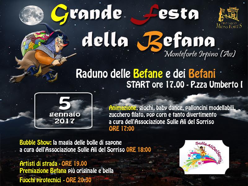 Grande Festa della Befana_Locandina