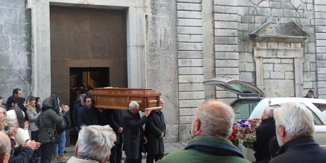 Agostino Della Gatta funerali