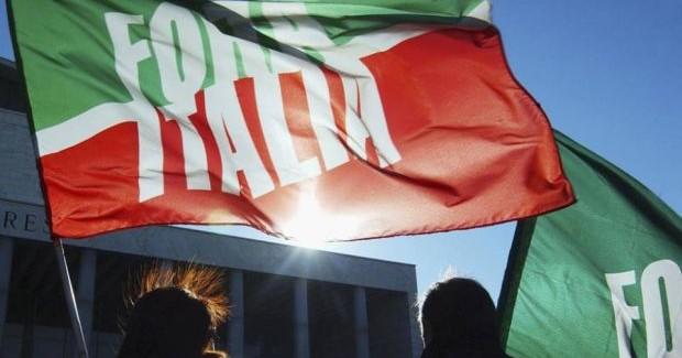 Forza Italia bandiera