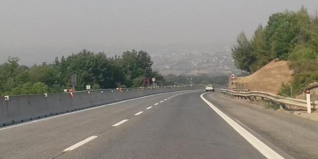 La A16 tra Grottaminarda e Benevento