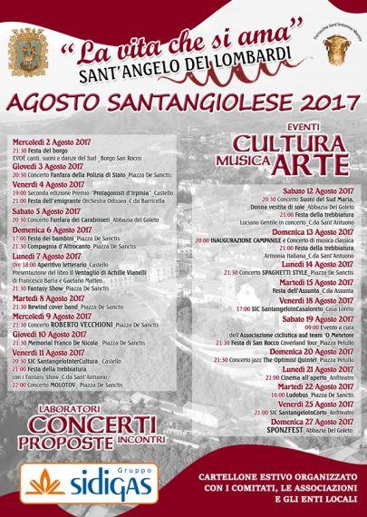 Programma Sant'Angelo dei Lombardi