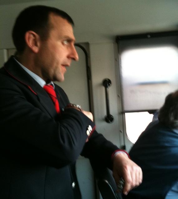 Claudio Russolillo, capotreno di Ferrovie dello Stato