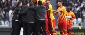 Esultanza Benevento Juve