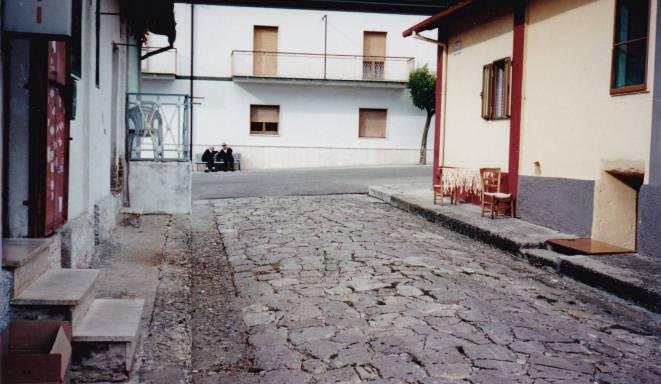 Uno scorcio delle Palazzine di Aquilonia