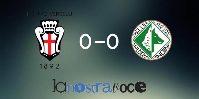 Avellino, Pro Vercelli, Serie B