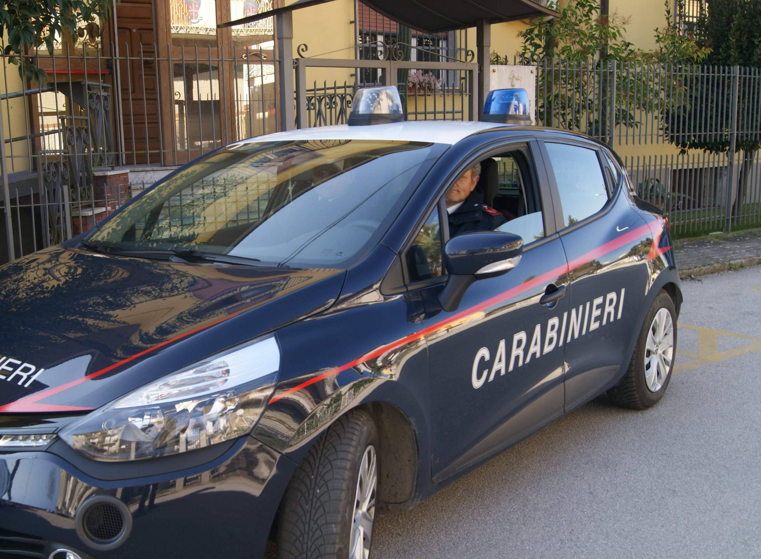 Carabinieri Dentecane Pietradefusi