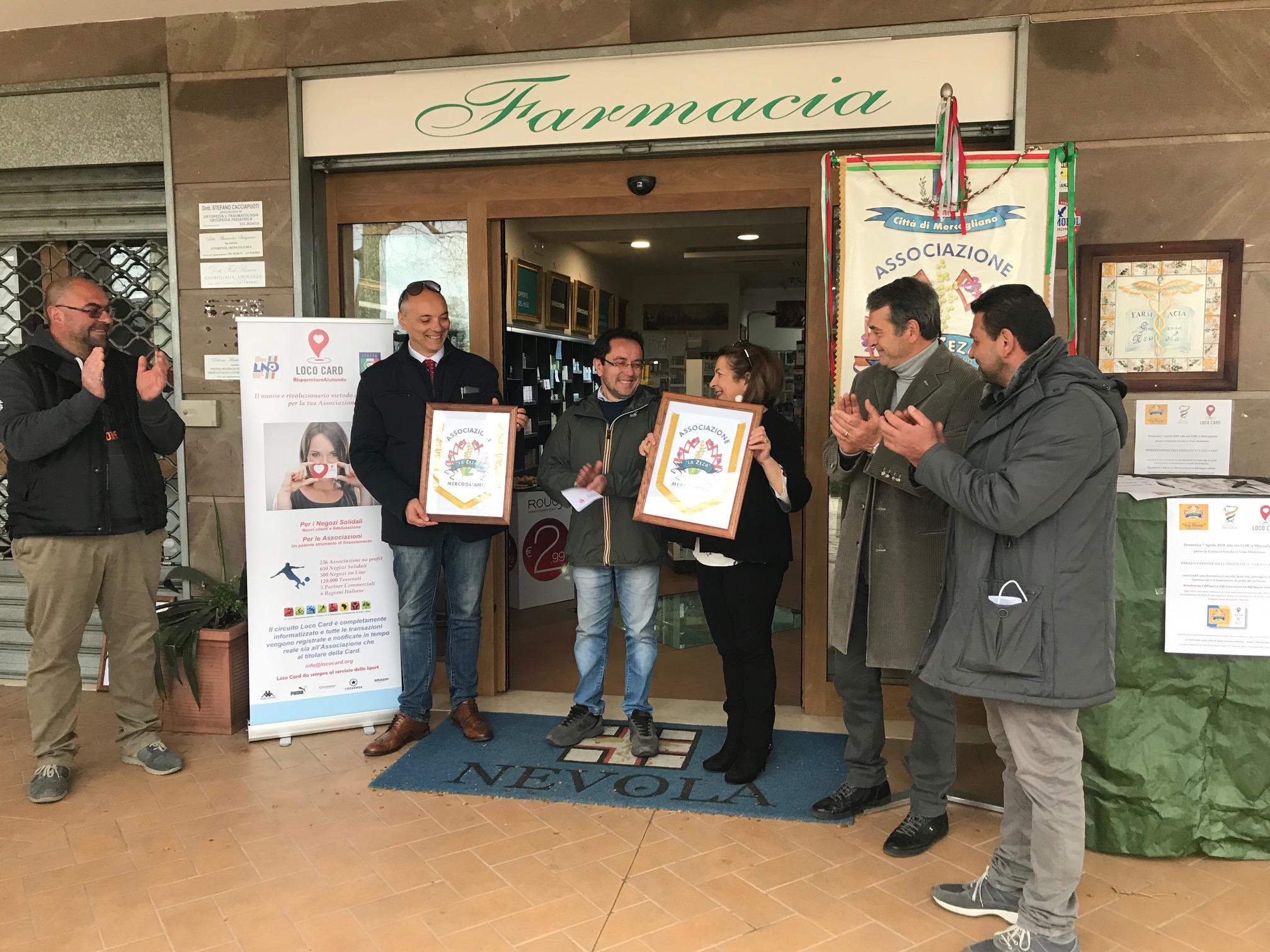 Mercogliano, l'Associazione LA ZEZA presenta Loco Card