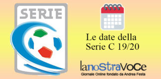Serie C, Avellino, Date