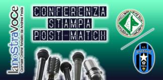 Avellino, Bisceglie, Conferenza Stampa