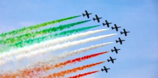 Passaggio frecce tricolori in Campania