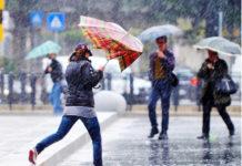 weekend freddo in Campania pioggia e vento