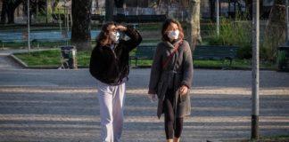 rimozione obbligo mascherina Campania
